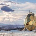 Amazing: Egg-shaped sauna