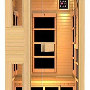 JNH Lifestyles NE1HB1 ENSI Collection 1 Person NO EMF Infrared Sauna Limited