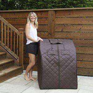 Radiant Saunas BSA6315 Harmony Deluxe Oversized Portable Cabin