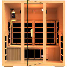 JNH Lifestyles Joyous 4 Person Far Infrared Sauna 9 Carbon Fiber Heaters 5 Year Warranty (MG415HB)